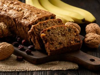 Hemp banana bread
