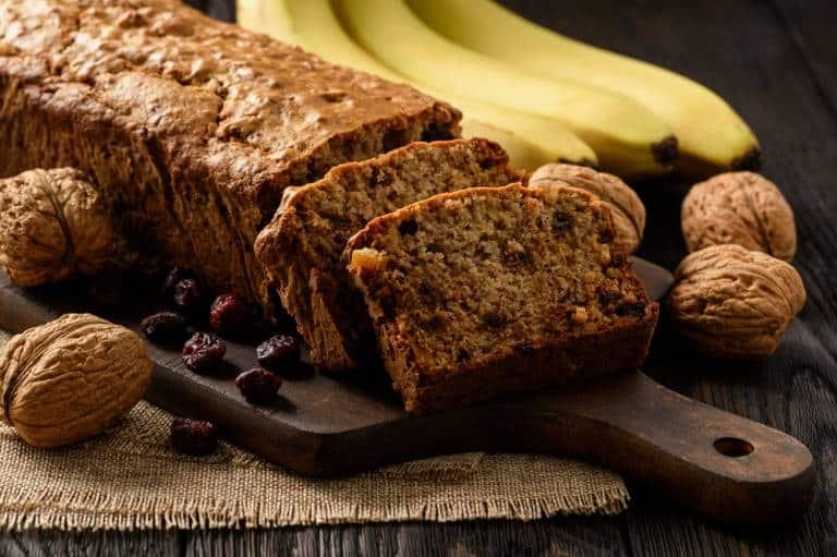 Hemp banana bread